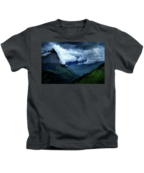 Montana Mountain Vista Kids T-Shirt