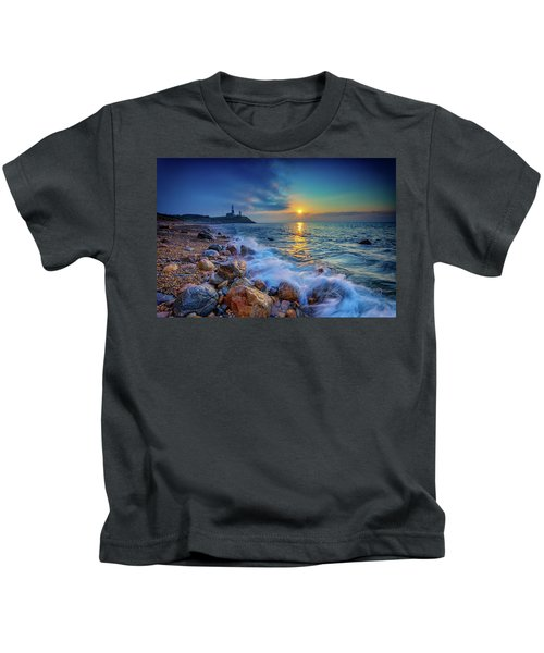 Montauk Sunrise Kids T-Shirt