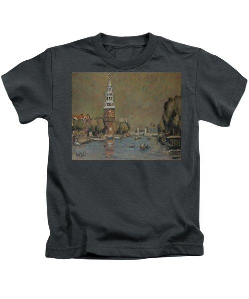 Montelbaanstoren Amsterdam Kids T-Shirt