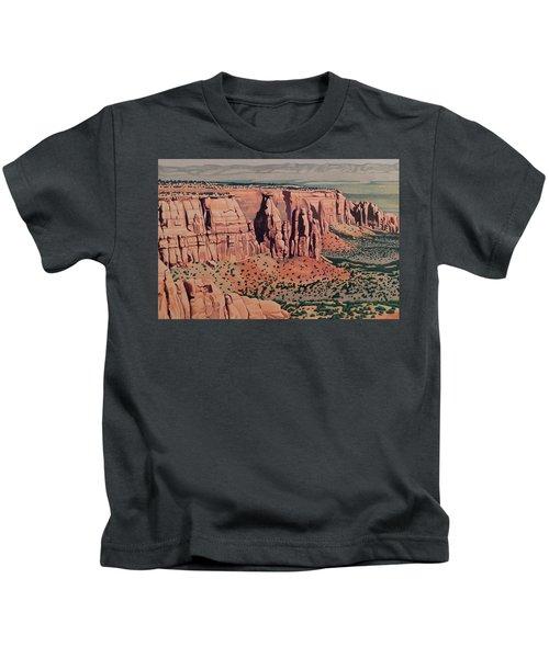 Monument Canyon Kids T-Shirt