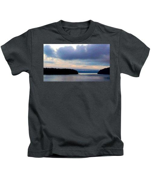 Moody Blue Kids T-Shirt