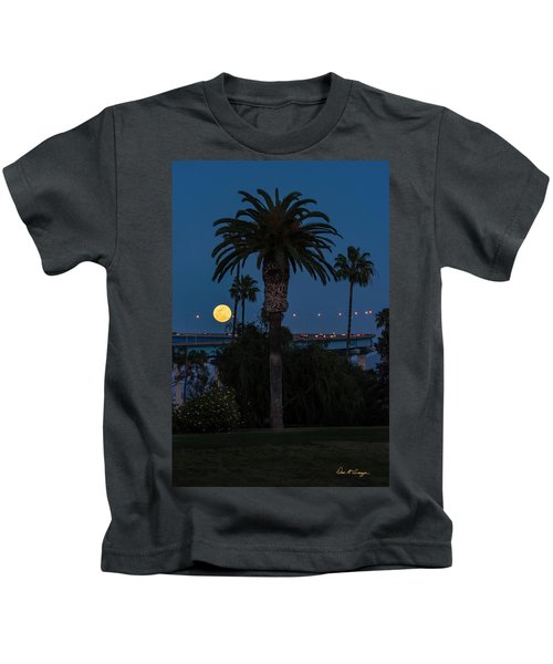 Moon On The Rise Kids T-Shirt
