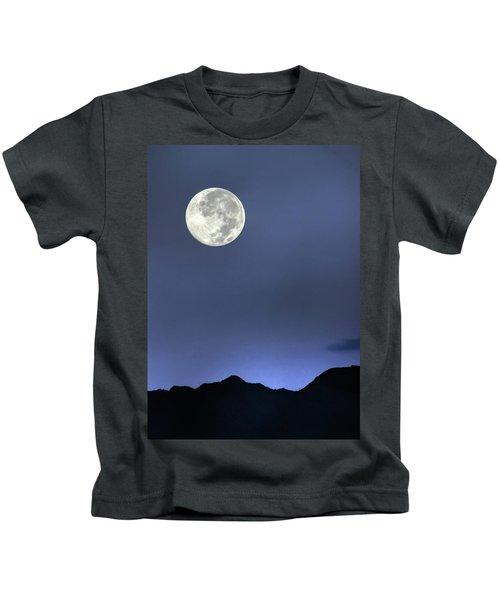 Moon Over Ko'olau Kids T-Shirt