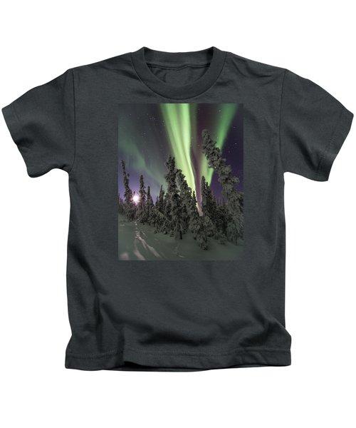 Moon Shadows Kids T-Shirt