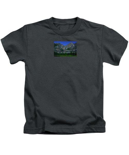 Moonbow Yosemite Falls Kids T-Shirt