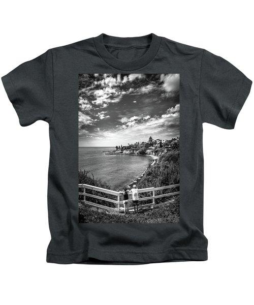 Moonlight Cove Overlook Kids T-Shirt