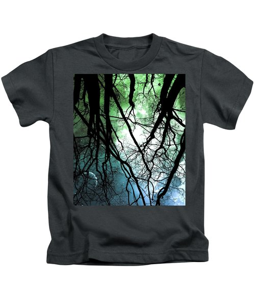 Moonlight Forest  Kids T-Shirt