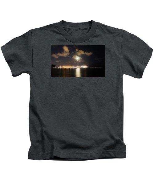 Moonlight Reflections Kids T-Shirt