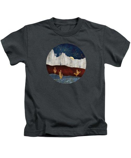 Moonlit Desert Kids T-Shirt