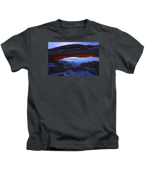 Moonlit Mesa Kids T-Shirt