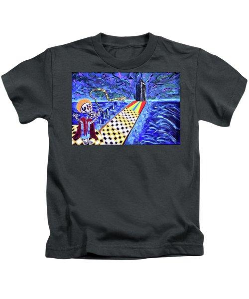 Moooshe And The Red Sea Kids T-Shirt