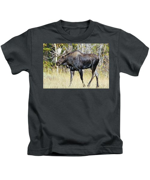 Moose On The Move Kids T-Shirt