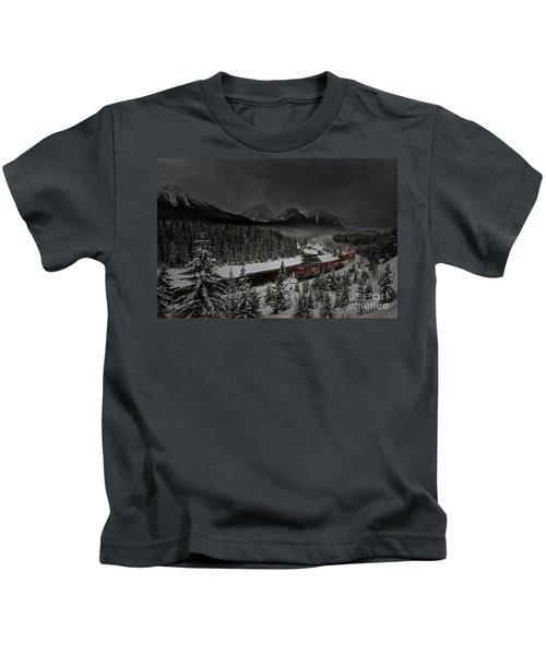 Morant's Curve At Night Kids T-Shirt