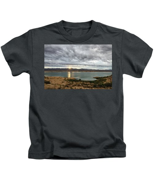 Morning After The Storm Kids T-Shirt