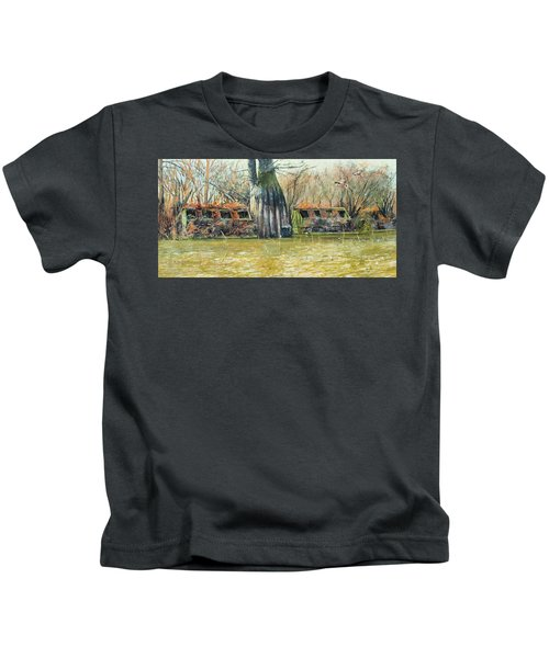 Morning Flight At Little Basin Kids T-Shirt