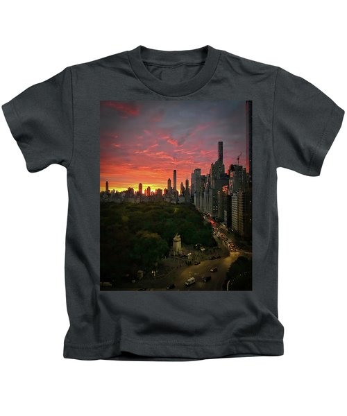 Morning In The City Kids T-Shirt