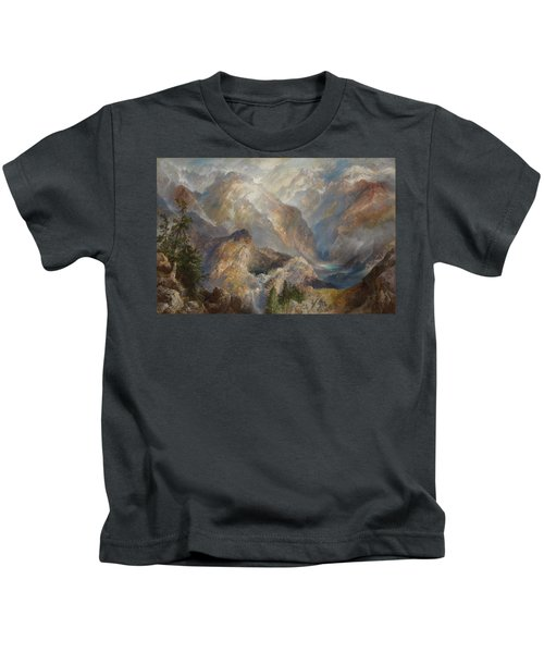 Morning In The Sierras Kids T-Shirt