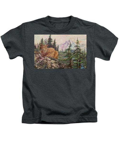 Morning Lynx Kids T-Shirt