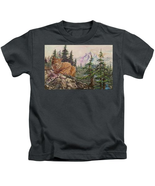 Morning Lynx Kids T-Shirt