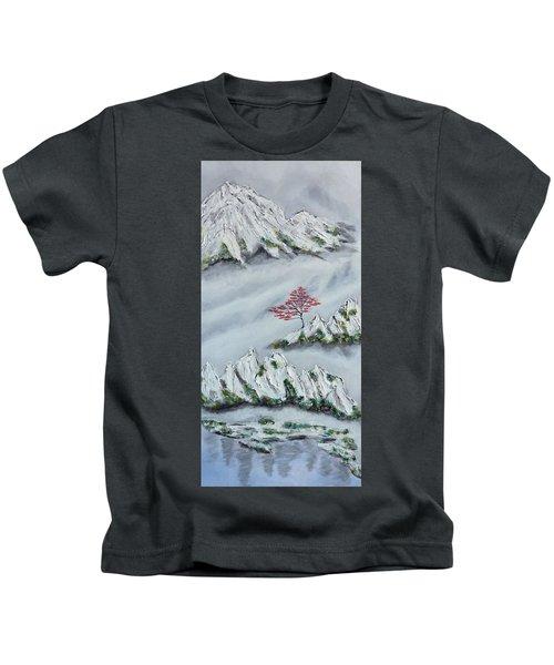 Morning Mist 3 Kids T-Shirt