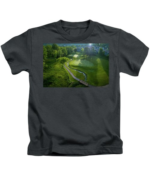 Morning On The 9th Kids T-Shirt