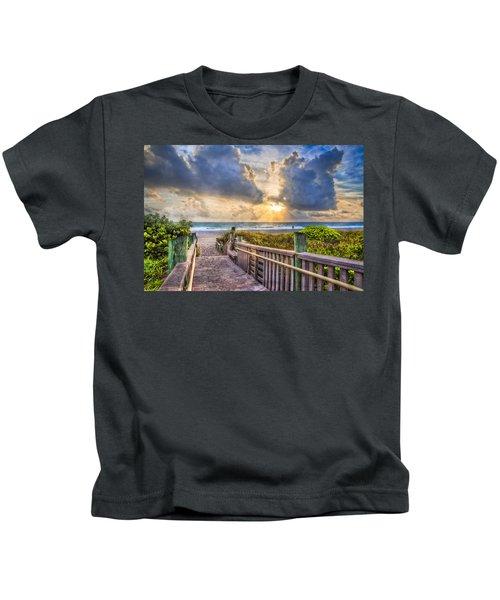 Morning Romance Kids T-Shirt