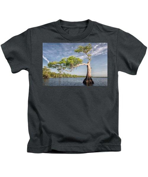 Morning Stretch Kids T-Shirt