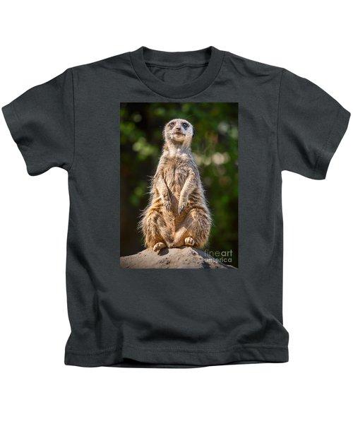 Morning Sun Kids T-Shirt by Jamie Pham