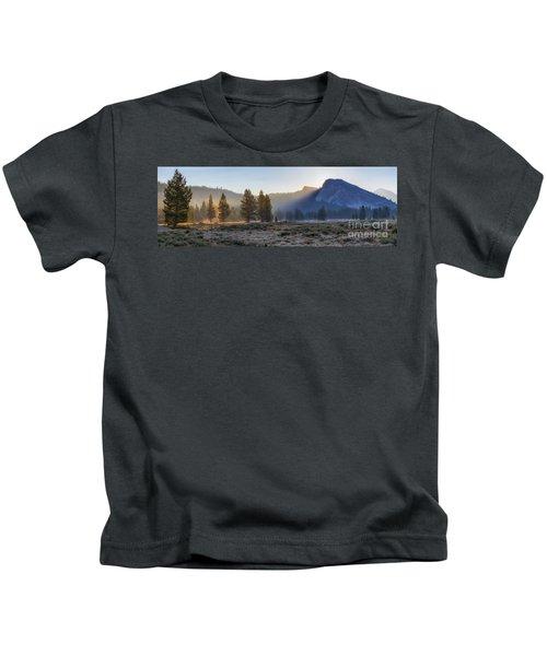 Morning Tuolomne  Kids T-Shirt