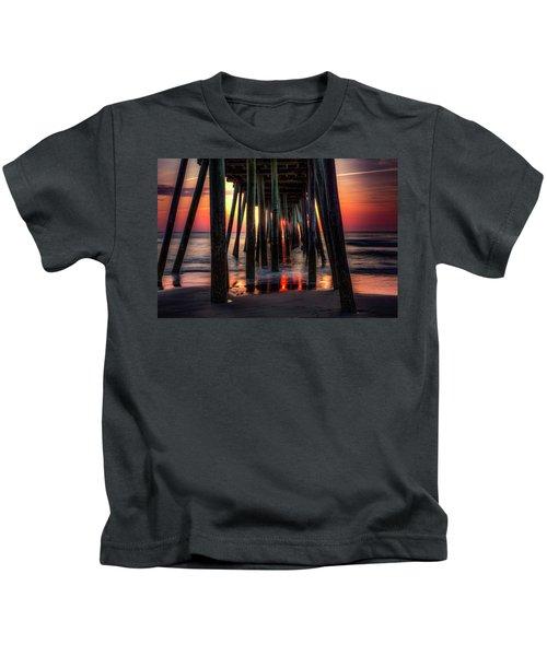Morning Under The Pier Kids T-Shirt