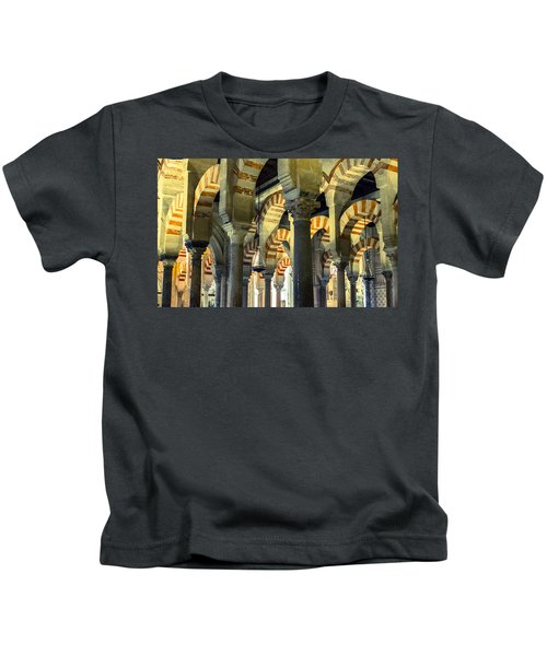 Mosque Cathedral Of Cordoba 2 Kids T-Shirt