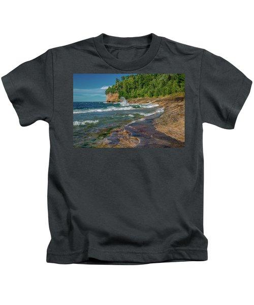 Mosquito Harbor Waves  Kids T-Shirt