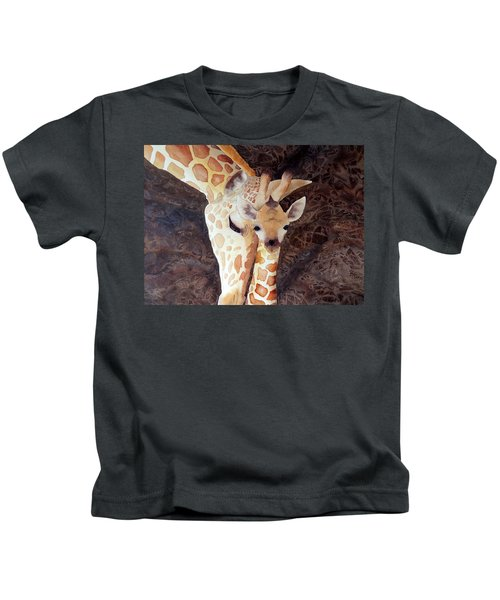 Mother And Child Kids T-Shirt