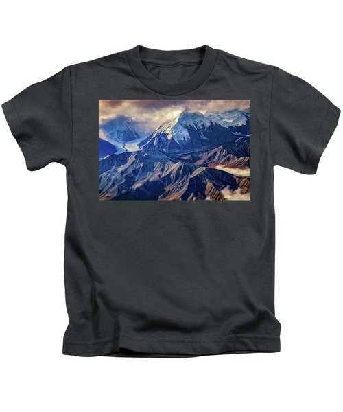 Mount Brooks From Above Kids T-Shirt