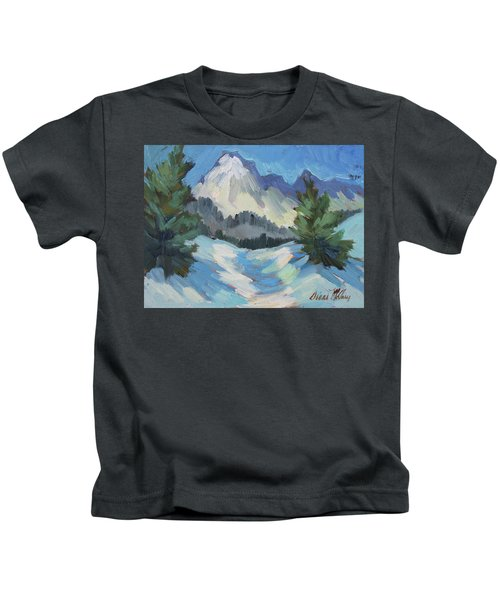 Mount Goode - Sierra Nevadas Kids T-Shirt