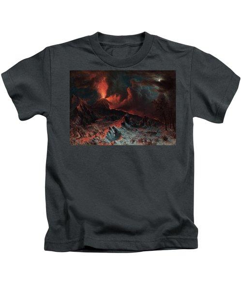 Mount Vesuvius At Midnight Kids T-Shirt