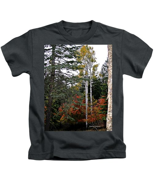 Mountain Autumn Kids T-Shirt