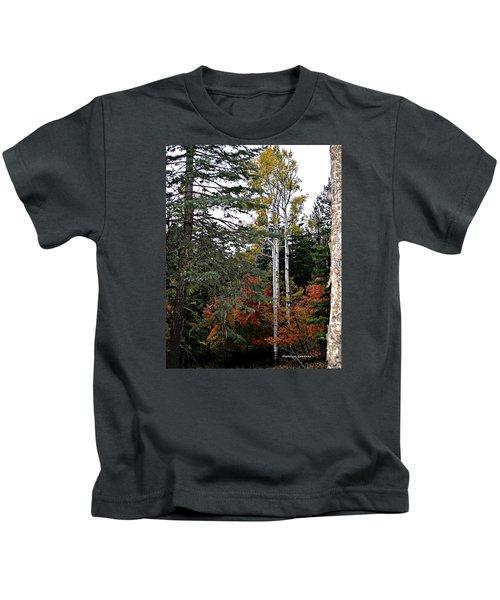 Mountain Autumn Kids T-Shirt