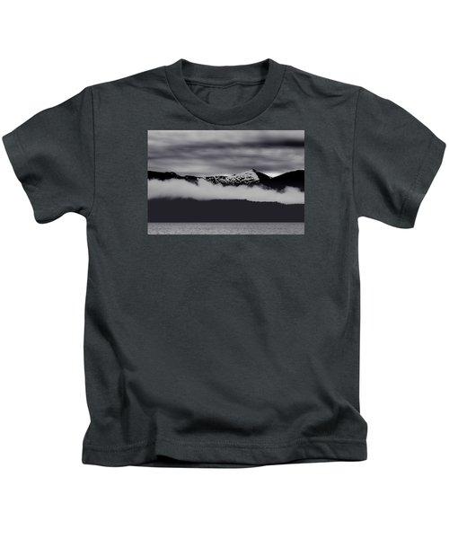 Mountain Contrast Kids T-Shirt