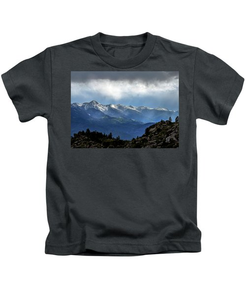 Mountain Moodiness Kids T-Shirt