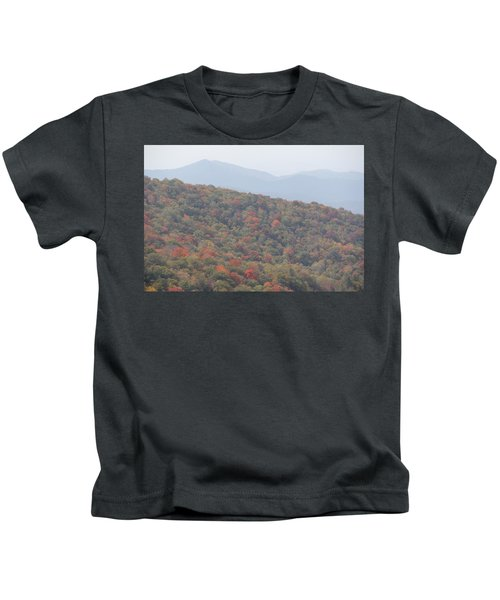 Mountain Range Kids T-Shirt