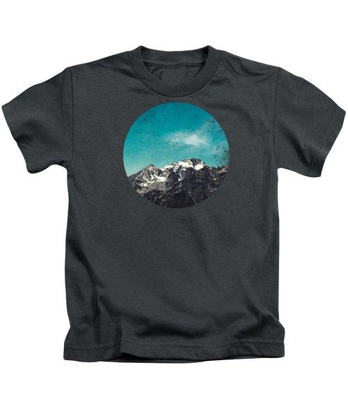 Mountain Range - Chiesa In Valmalenco - Lombardia - Italy Kids T-Shirt
