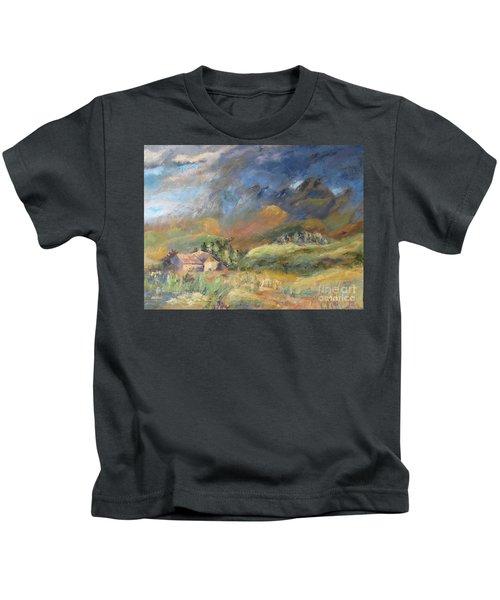 Mountain Storm Kids T-Shirt