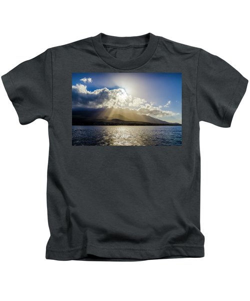 Mountain Sunbeams Kids T-Shirt