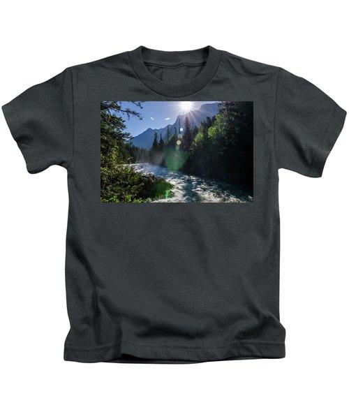 Mountain Sunburst Kids T-Shirt