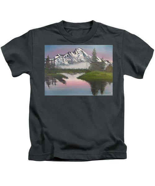 Mountain Sunset Kids T-Shirt