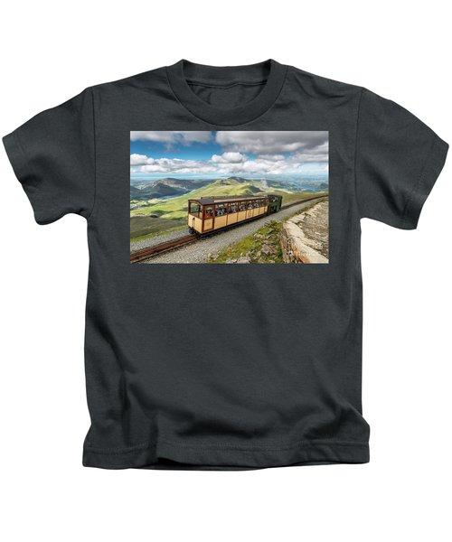 Mountain Train Kids T-Shirt