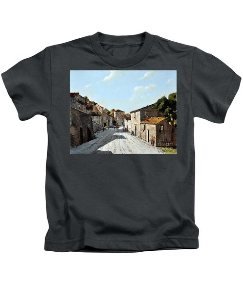 Mountain Village Main Street Kids T-Shirt