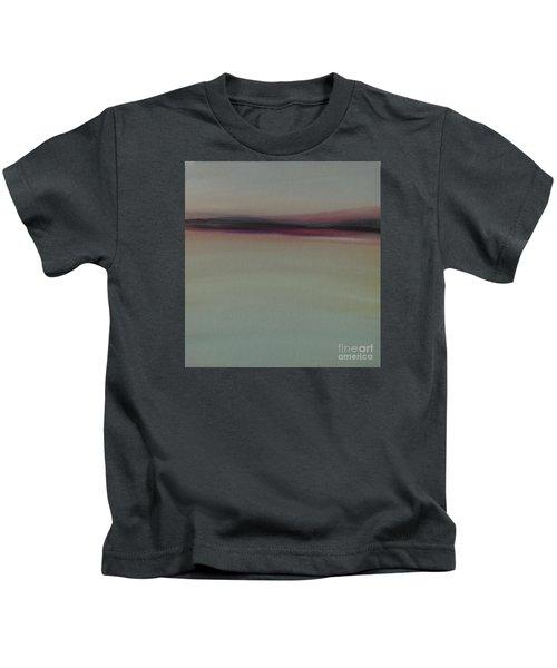 Mountains At Dawn Kids T-Shirt