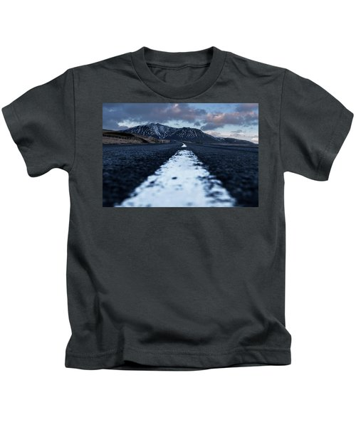 Mountains In Iceland Kids T-Shirt
